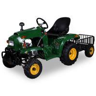 Dětský čtyřtaktní zahradní traktor s přívěsem 110ccm