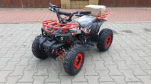 Dětská elektro čtyřkolka ATV MiniHunter 1000W 48V Červená