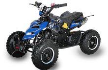 Dětská dvoutaktní čtyřkolka ATV Repti NitroM 49ccm E-start DO, modrá