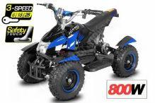 Dětská elektro čtyřkolka ATV Cobra 800W 36V Modrá