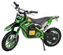 Elektrická motorka Minicross 54501 500w zelená