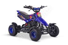 Dětská dvoutaktní čtyřkolka ATV Nitro SIOS 49ccm modrá