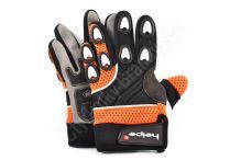 Dětské MotoCross rukavice oranžové