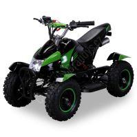 Dětská dvoutaktní čtyřkolka ATV Cobra 2 49ccm zelená E-start