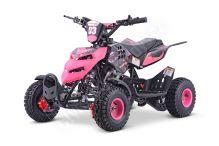 Dětská dvoutaktní čtyřkolka ATV Repti Nitro 49ccm růžová
