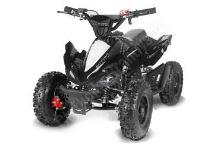 Dětská dvoutaktní čtyřkolka ATV Phyton Deluxe E-start 49ccm černá