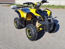Dětská elektro čtyřkolka ATV Hummer 1000W 48V žlutá