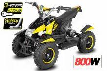 Dětská elektro čtyřkolka ATV Cobra 800W 36V Žlutá