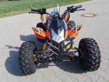 """Dětská čtyřtaktní čtyřkolka ATV BlackBear RS 125ccm oranžová 1 rych. poloautomat 8"""" kola"""