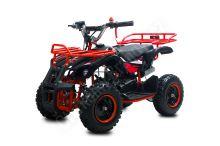 Dětská dvoutaktní čtyřkolka ATV Torino Deluxe 49ccm červená posledni sestavena.