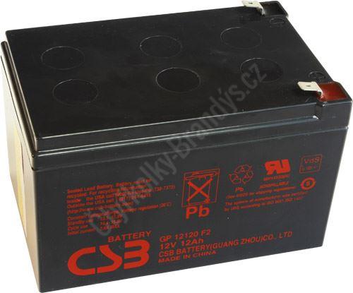 CSB BATTERY GP12120F2 12V 12Ah