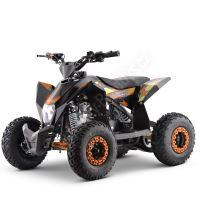 Dětská čtyřtaktní čtyřkolka ATV FactoryTeam 90ccm 4T - oranžová