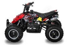 Dětská dvoutaktní čtyřkolka ATV Repti NitroM 49ccm E-start DO, červená