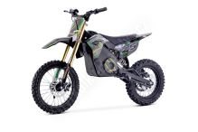 Elektrická motorka MiniRocket Coyote 1300W 48V zelená kola 14/12