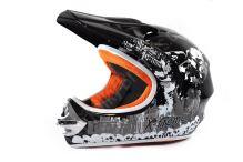 Dětská cross helma Xtreme - černa