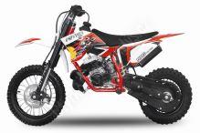 Minicross NRG 50 Racing Deluxe 2017, ráfky 12x10 červená