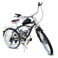 Motokolo Petrol Biker Cruiser 80cc Black