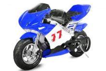 Nitro Minibike PS77, modrá-černá