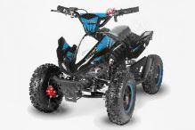 Dětská dvoutaktní čtyřkolka ATV Phyton Deluxe E-start 49ccm modrá