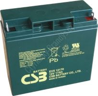 CSB BATTERY EVX12170 12V 17Ah