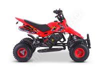 Dětská dvoutaktní čtyřkolka ATV Nitro SIOS 49ccm červená