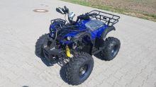 Dětská čtyřtaktní čtyřkolka ATV Hummer RS 125ccm DELUXE modrá 3 rych. poloautomat