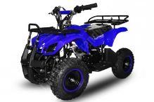 Dětská dvoutaktní čtyřkolka ATV Torino 49ccm, E-start modrá