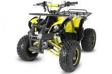 """Dětská čtyřtaktní čtyřkolka ATV Hummer RS 125ccm žlutá 1 rych. poloautomat 8"""" kola"""