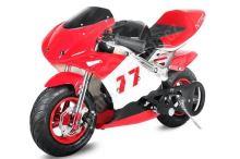 Minibike PS77, červená-černá