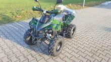 Dětská elektro čtyřkolka ATV Warrior XL 1000W 48V maskáč zelený