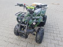 """Dětská čtyřtaktní čtyřkolka ATV Hummer RS 125ccm maskáč 1 rych. poloautomat 7"""" kola"""