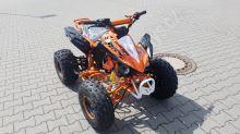 """Dětská čtyřtaktní čtyřkolka ATV Speedbird DELUX 125ccm oranžová 3 rych.poloautomat 8"""" kola"""
