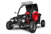 Buggy 125ccm automat (1+1) černá