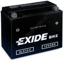 Motobaterie EXIDE BIKE Factory Sealed AGM12-5 (12V, 4Ah, 70A)