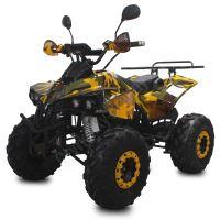 Dětská elektro čtyřkolka ATV Street Hummer XL 1500W 60V maskáč žlutý