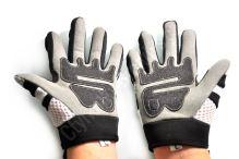 Dětské MotoCross rukavice bílé