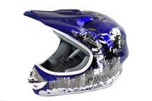 Dětská cross helma Xtreme - modrá