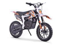 Elektrická motorka Minicross motors Jackal 500W 36V Baterie Lithium oranžová