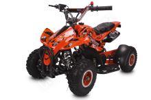 Dětská čtyřkolka Dragon II Sport 49ccm oranžová