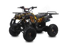 """Dětská čtyřtaktní čtyřkolka ATV Toronto RS 125ccm DELUXE maskáč zluty 1rych. poloaut 7""""kol"""