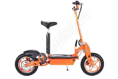 Elektrická koloběžka DirtKing 1000W 48V oranžová