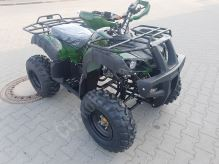 """Dětská čtyřtaktní čtyřkolka ATV BigHummer 125ccm maskáč 3 rych. poloautomat 10"""" kola"""