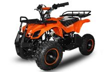 Dětská dvoutaktní čtyřkolka ATV Torino 49ccm, E-start oranžová