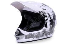 Dětská cross helma Xtreme - bílá