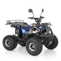 56155 Elektro čtyřkolka ATV s homologací 40 km/h. 1200W 72V/20Ah modrá tažné zařízení